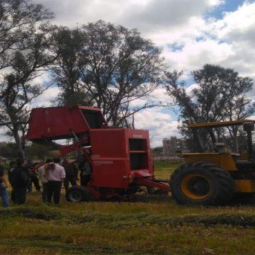 En Argentina se capacitan en mecanización agrícola para ganadería