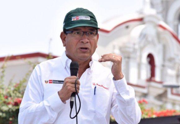 Jorge Luis Montenegro es nuevo líder del Minagri