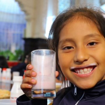 Recomiendan leche entera para niños para evitar sobrepeso