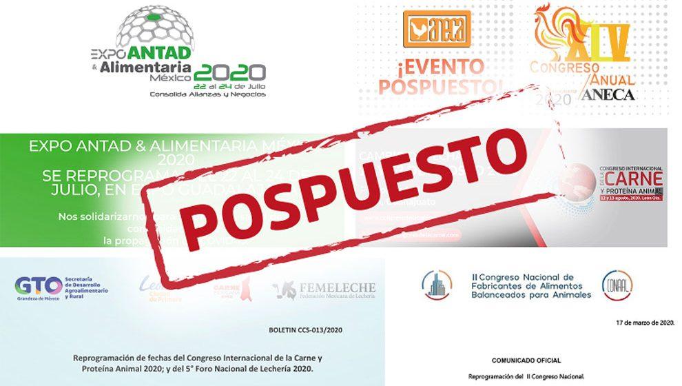 México: industria pecuaria suspende eventos por COVID-19