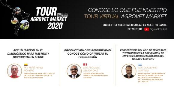 Tour Virtual Agrovet Market, décimo año impartiendo conocimiento