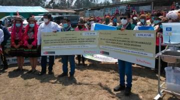 Minagri entrega semillas de pastos mejorados para impulsar ganadería en Apurímac