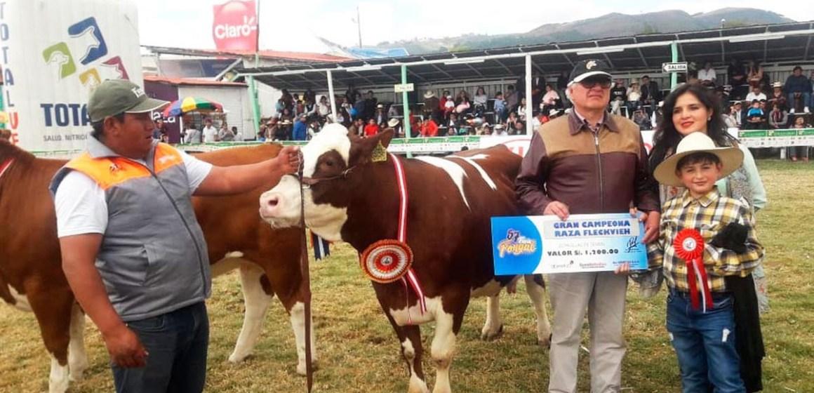 Feria Fongal 2021 congregó al sector ganadero en Cajamarca